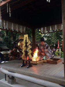 赤ちゃん命名・姓名判断 武信稲荷神社御火焚祭2