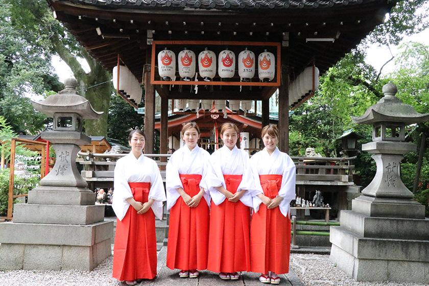 命名姓名判断 武信稲荷神社巫女体験写真見本4
