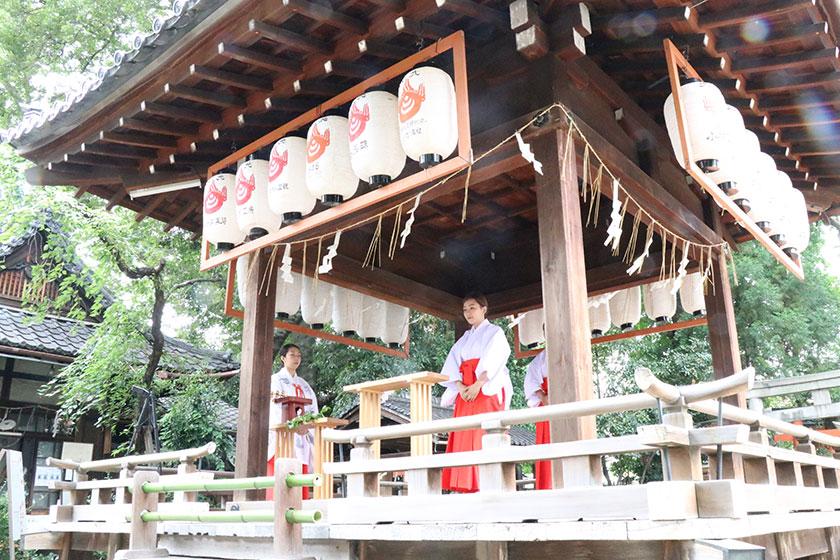 姓名判断 武信稲荷神社巫女体験写真見本10