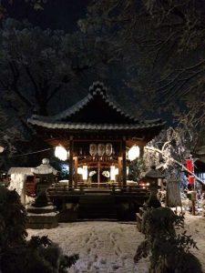 命名・名付け姓名判断武信稲荷神社 初詣風景