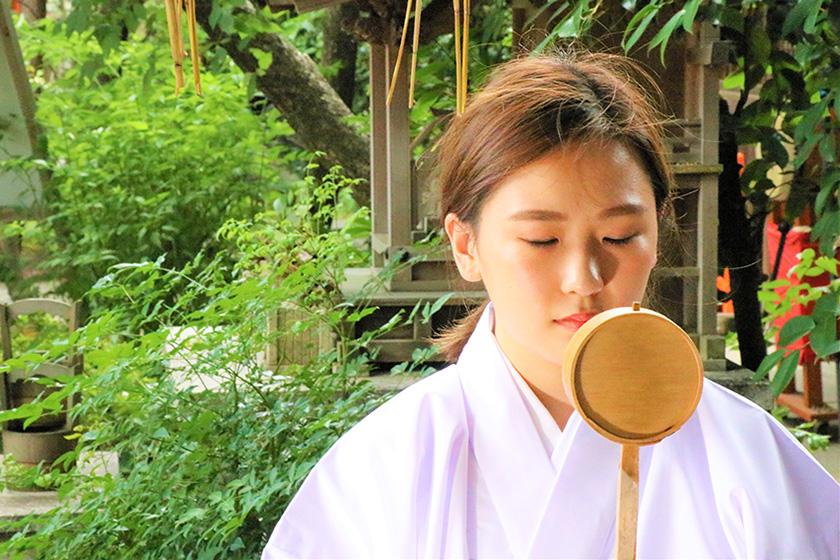 命名姓名判断 武信稲荷神社巫女体験写真見本5