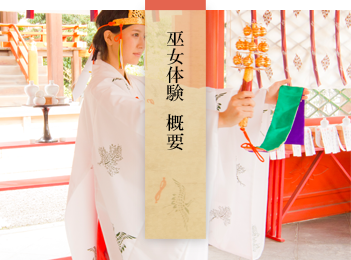 命名姓名判断 武信稲荷神社巫女体験概要アイコン
