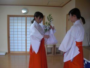 赤ちゃん名付け 武信稲荷神社巫女体験風景写真7