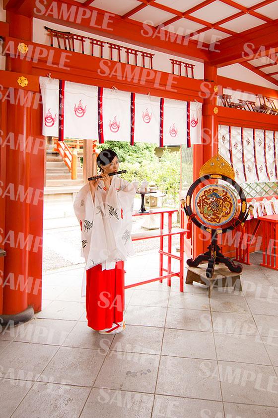 赤ちゃん命名 武信稲荷神社巫女体験写真見本4