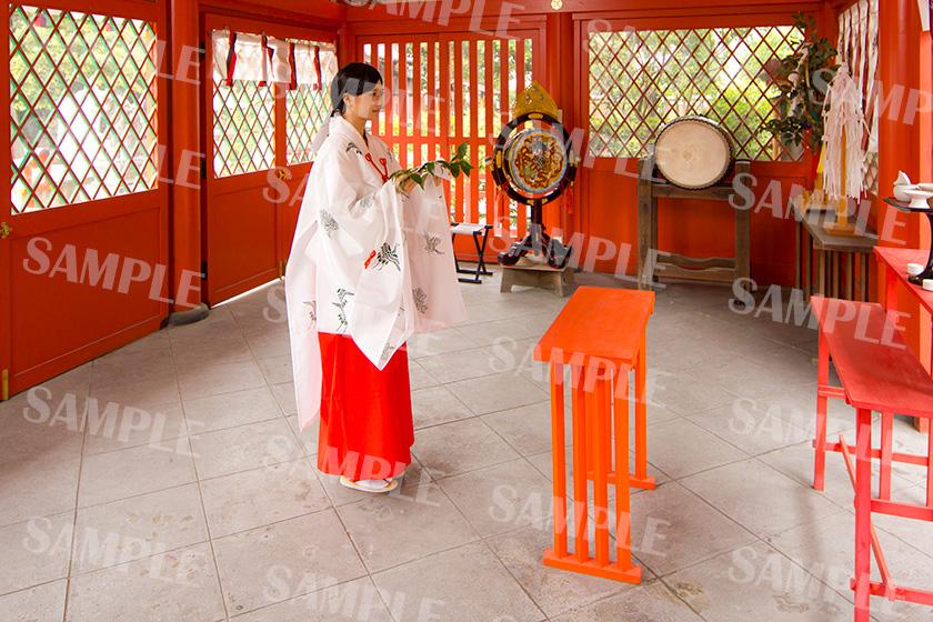 命名姓名判断 武信稲荷神社巫女体験写真見本9