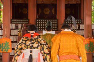 命名姓名判断 武信稲荷神社結婚式写真8