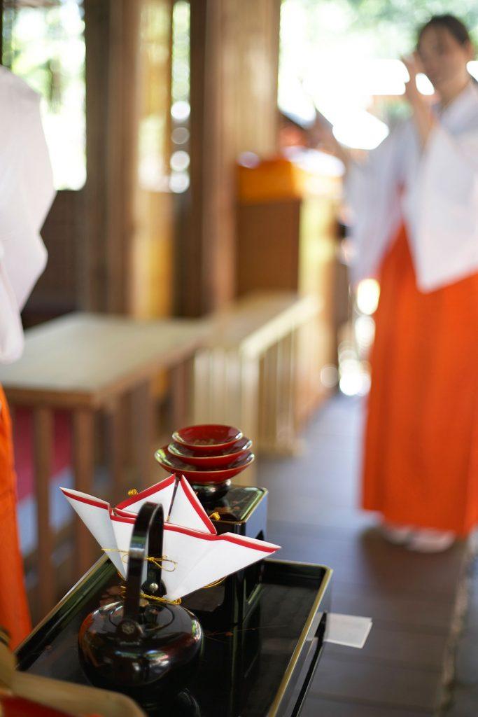 名付け姓名判断 武信稲荷神社結婚式写真3
