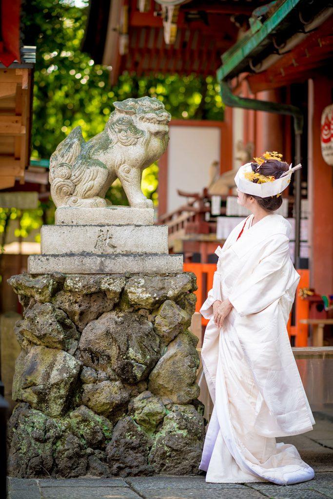 名付け姓名判断 武信稲荷神社結婚式写真5