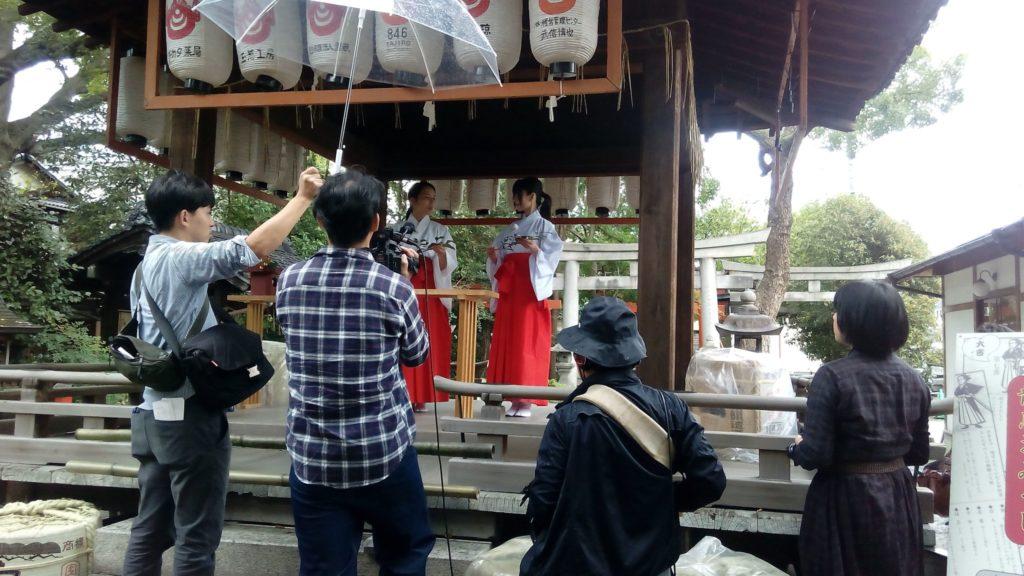 命名姓名判断 武信稲荷神社 古都ジェニック写真